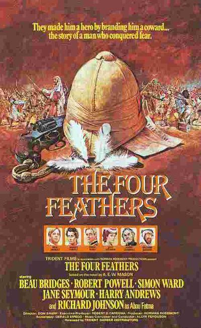 Les quatre plumes blanches (1977)